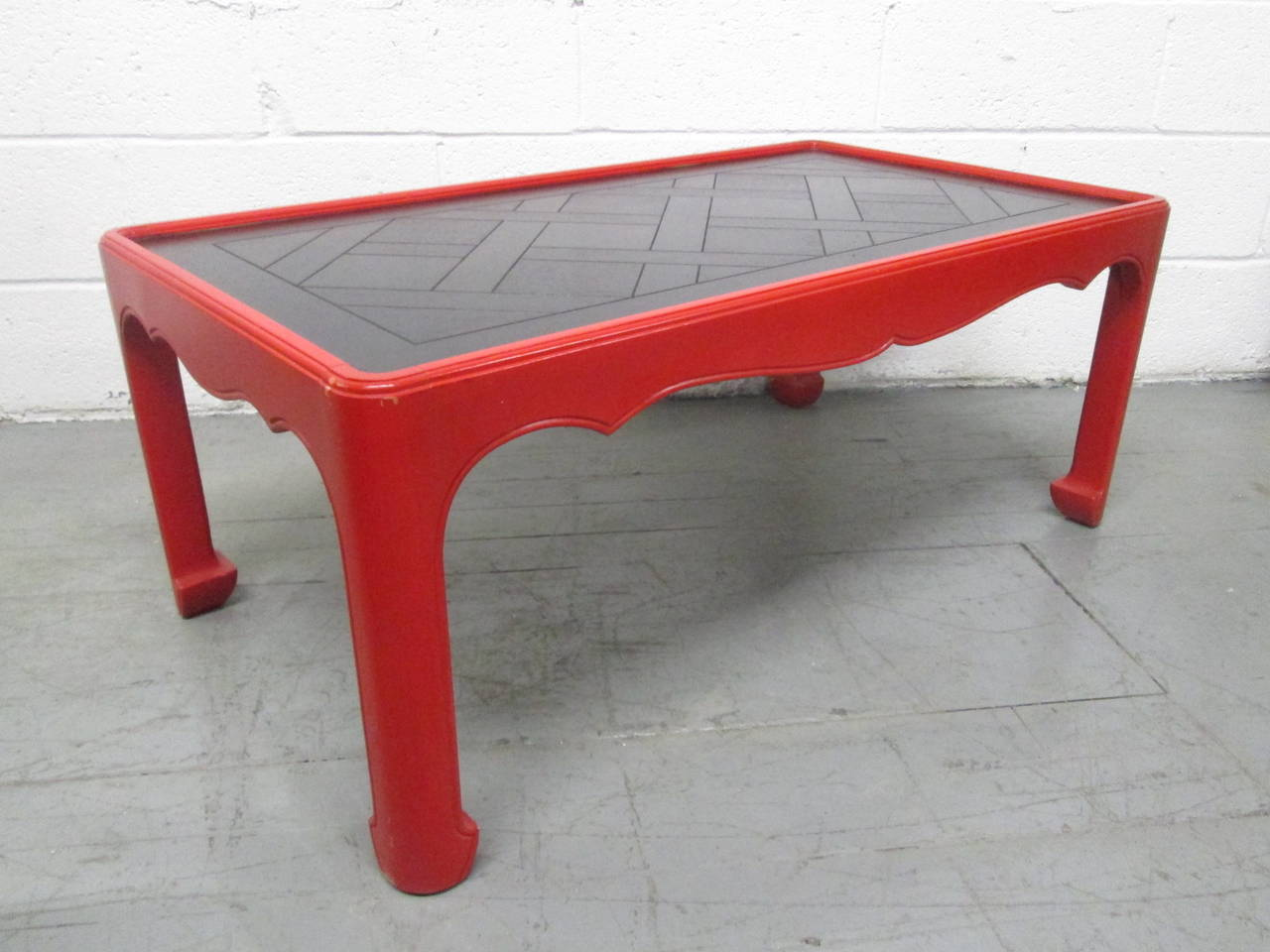 Asian Inspired Coffee Table For Sale At 1stdibs