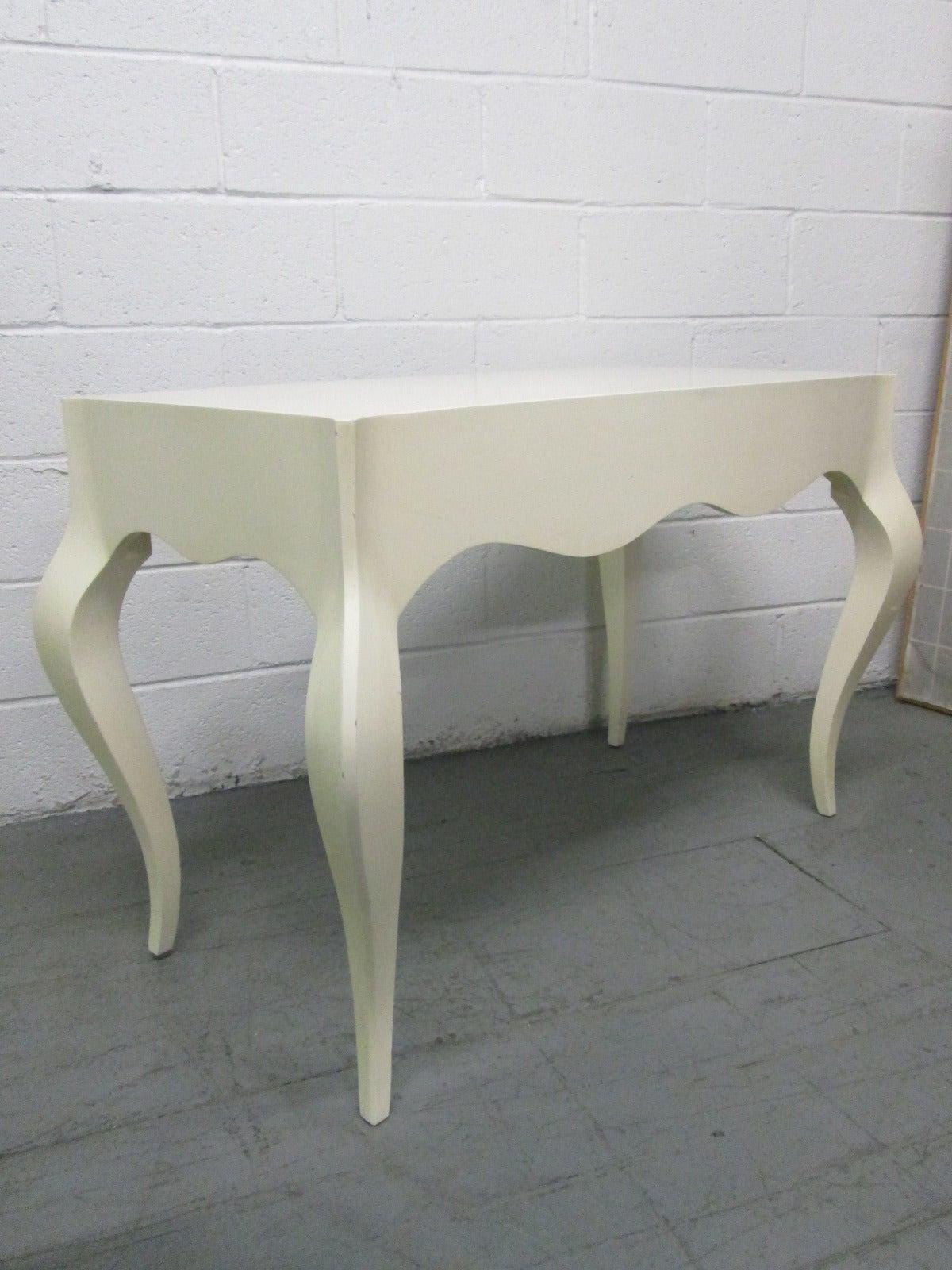 Custom Painted Grosfeld House Style Table 2