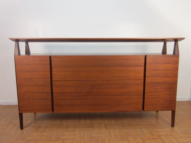 American Bertha Schaefer Credenza by Singer & Sons For Sale
