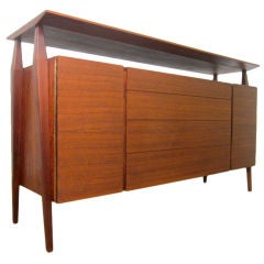 Bertha Schaefer Credenza by Singer & Sons