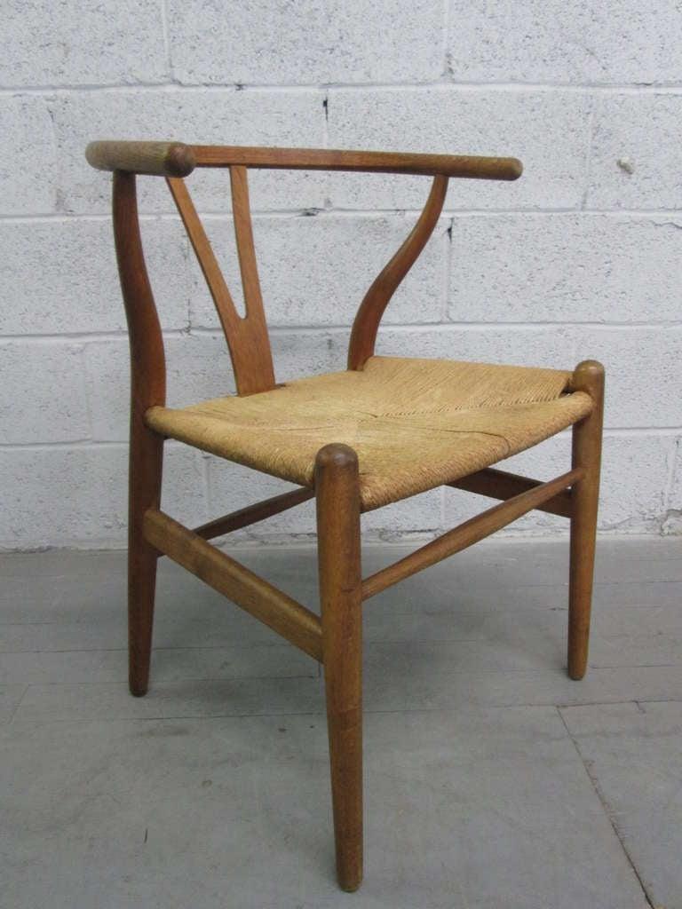 6 wishbone hans wegner y chairs for sale at 1stdibs. Black Bedroom Furniture Sets. Home Design Ideas