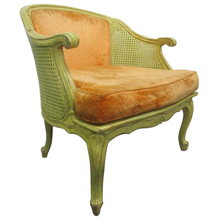 french fauteuil louis xiv style chair at 1stdibs. Black Bedroom Furniture Sets. Home Design Ideas