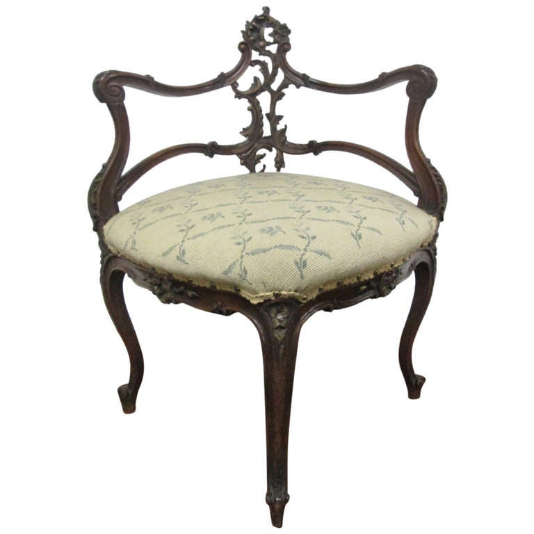 french antique corner chair at 1stdibs