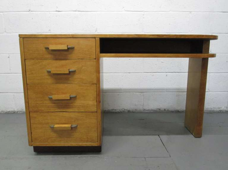 birch wood dresser streamline desk in birch by eliel saarinen for johnson furniture