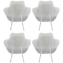 Four Russell Woodard Sculptura Chairs