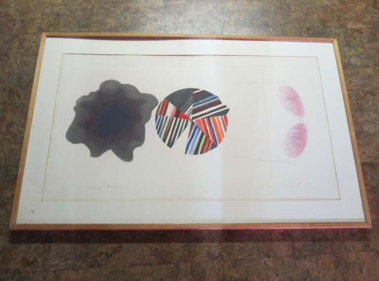 Artist: James Rosenquist Title: Federal spending Year: 1978 Medium: Etching/Aquatint  Signed and Numbered in Pencil Edition: 18/78 Paper size: 23 x 40 inches Frame: 29.5
