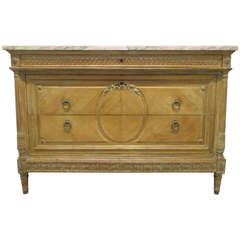 Antique French Marble Dresser