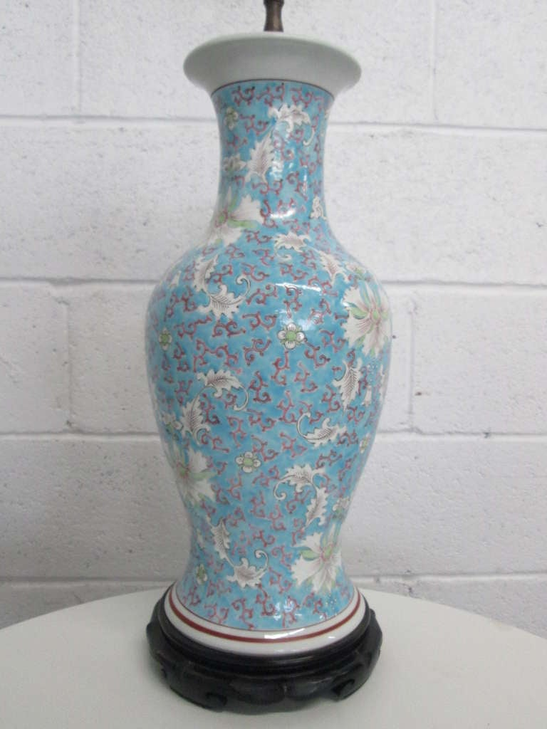 Asian Ceramic Lamps 33