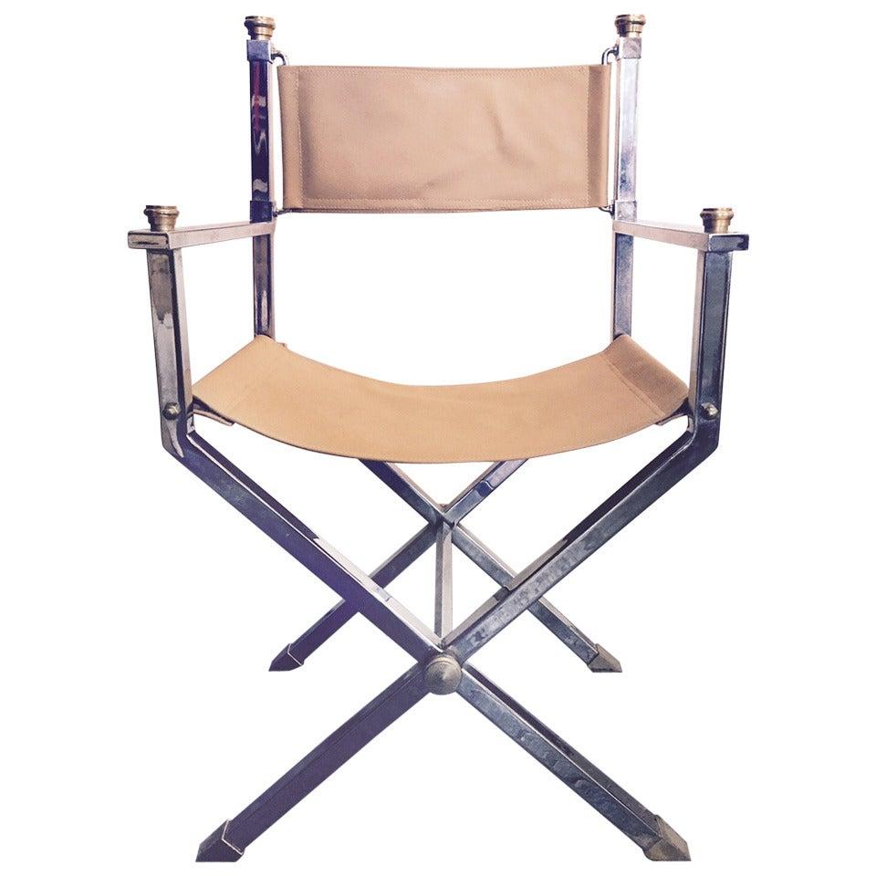 Maison Jansen Style Director 39 S Chair At 1stdibs