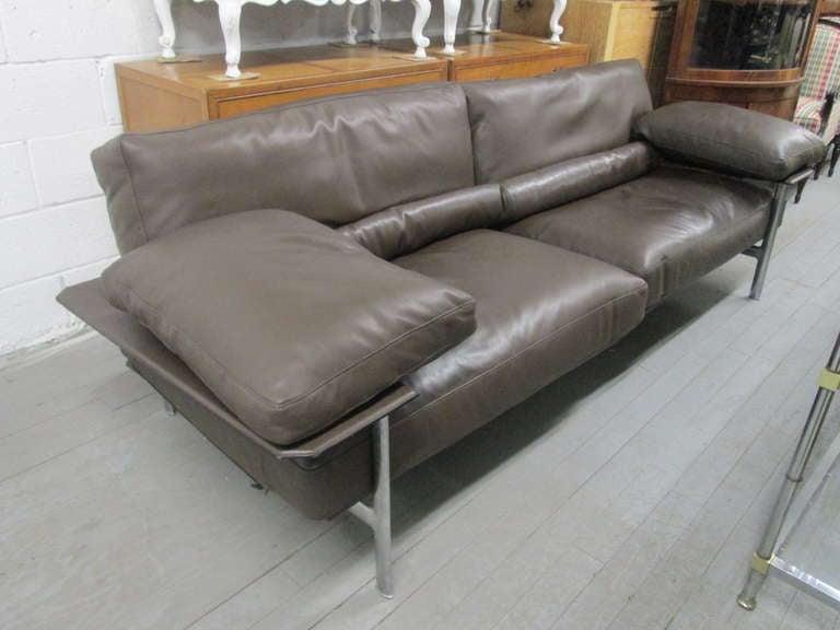 Diesis Leather Sofa By Antonio Citterio For B Amp B Italia At