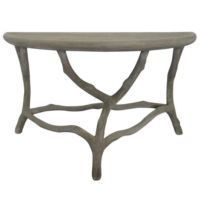 Unique garden console table at 1stdibs for Unique console tables for sale