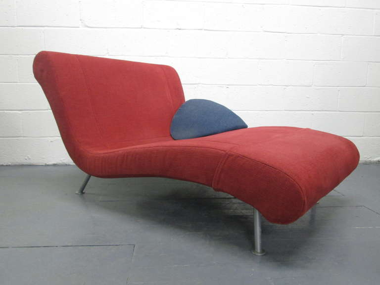 French chaise lounge daybed by ligne roset at 1stdibs - Chaise rocher ligne roset ...
