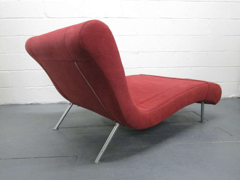 french chaise lounge daybed by ligne roset at 1stdibs. Black Bedroom Furniture Sets. Home Design Ideas