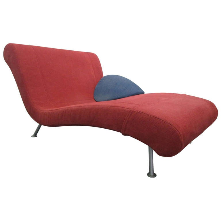 french chaise longue daybed by ligne roset at 1stdibs. Black Bedroom Furniture Sets. Home Design Ideas