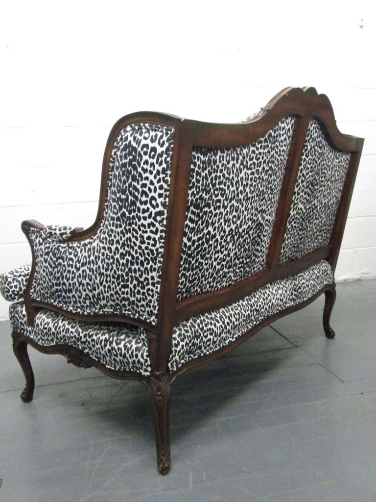 French Antique Style Loveseat For Sale At 1stdibs