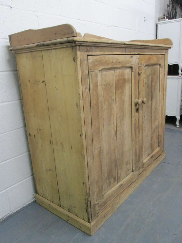 19th century french antique pine cabinet for sale at 1stdibs for Antique pine kitchen cabinets
