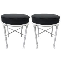 Hollywood Regency Stools