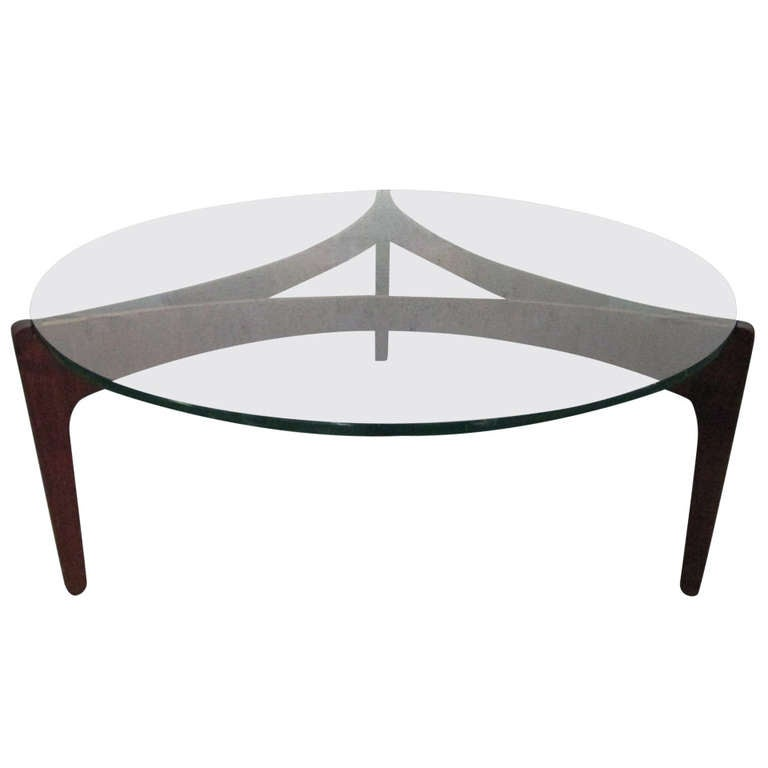 Sven Ellekaer Danish Teak Coffee Table