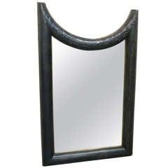 Hammered Tin Framed Mirror