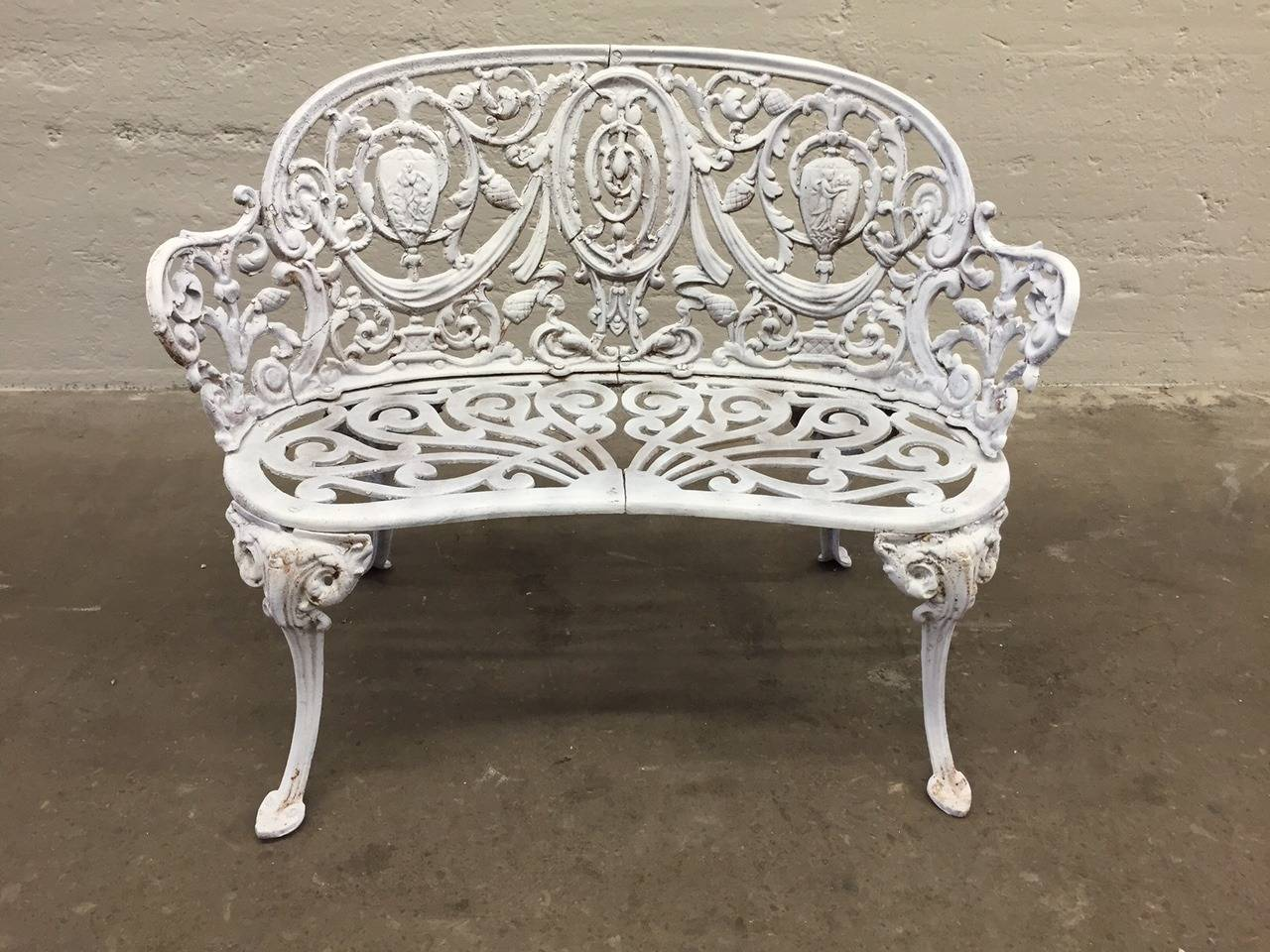 Antique Cast Iron Garden Bench For Sale At 1stdibs