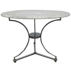 Marble Top Table after Maison Jansen