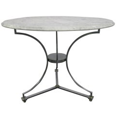 Marble-Top Table after Maison Jansen