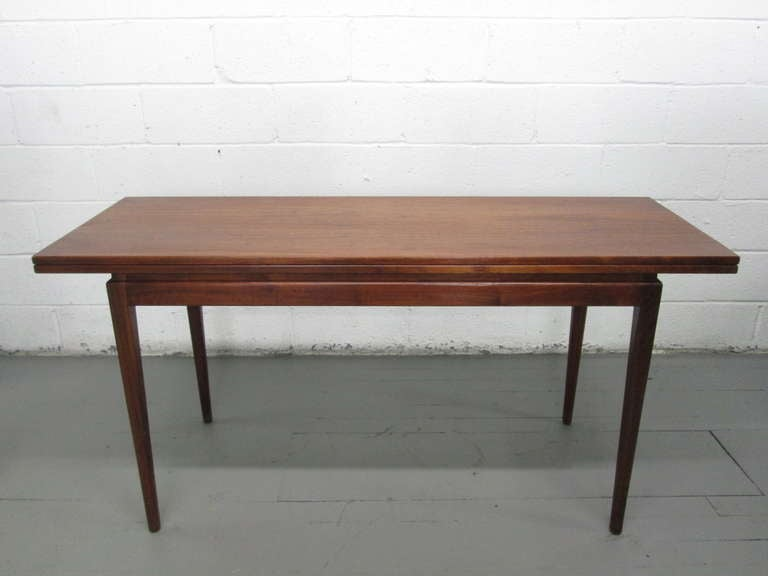 Jens risom convertible dining table or console for sale at 1stdibs - Archives departementales 33 tables decennales ...