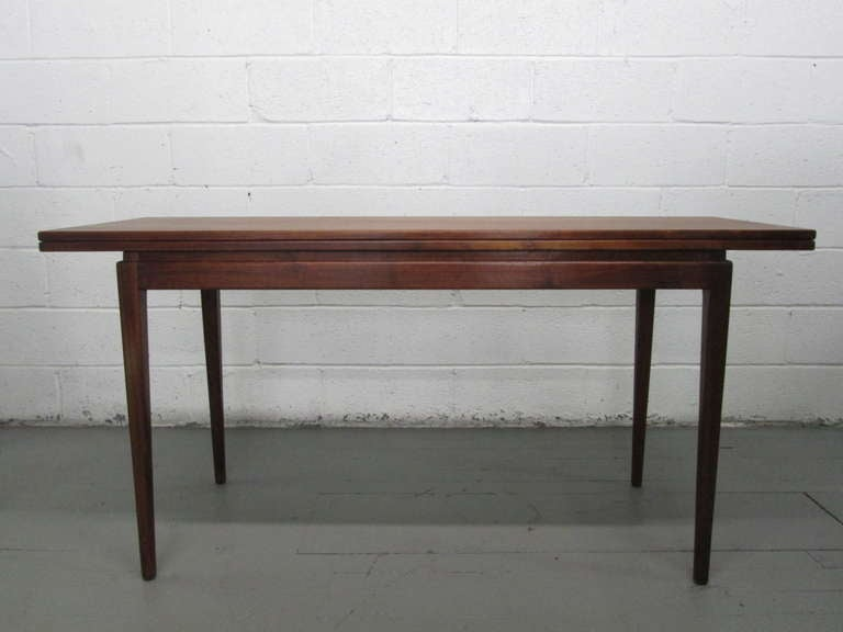 Jens risom convertible dining table or console for sale at - Archives departementales 33 tables decennales ...