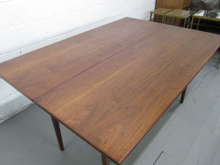 jens risom convertible dining table or console for sale at 1stdibs