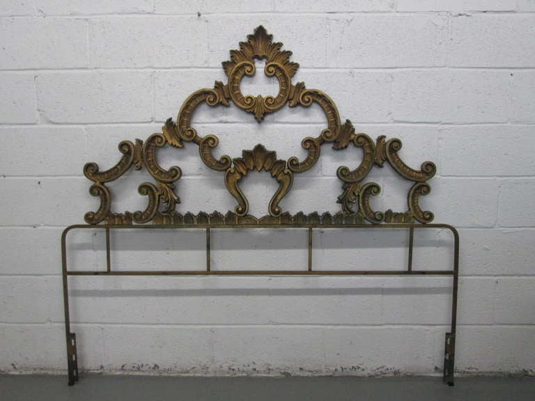 Rococo Style Headboard For Sale At 1stdibs