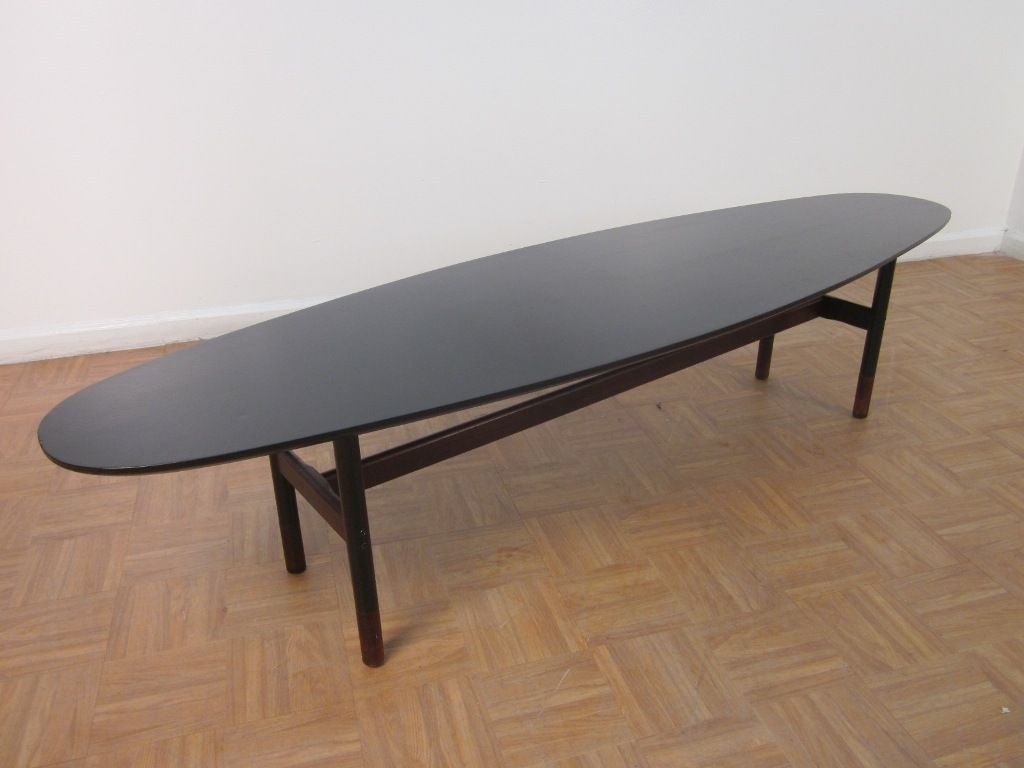 Surfboard Style Coffee Table At 1stdibs