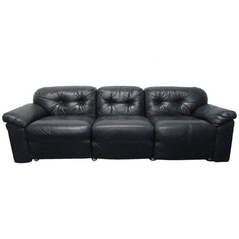 Italian Leather Sofa by Sormani For Sale at 1stdibs : 1258204l from www.1stdibs.com size 768 x 768 jpeg 27kB