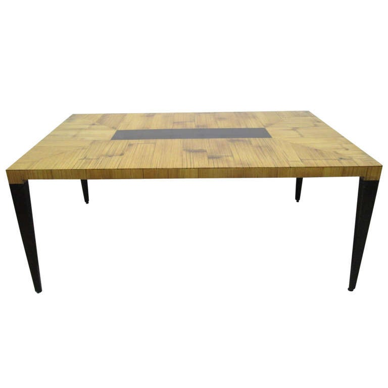 Large modern dining table at 1stdibs for Modern large dining table