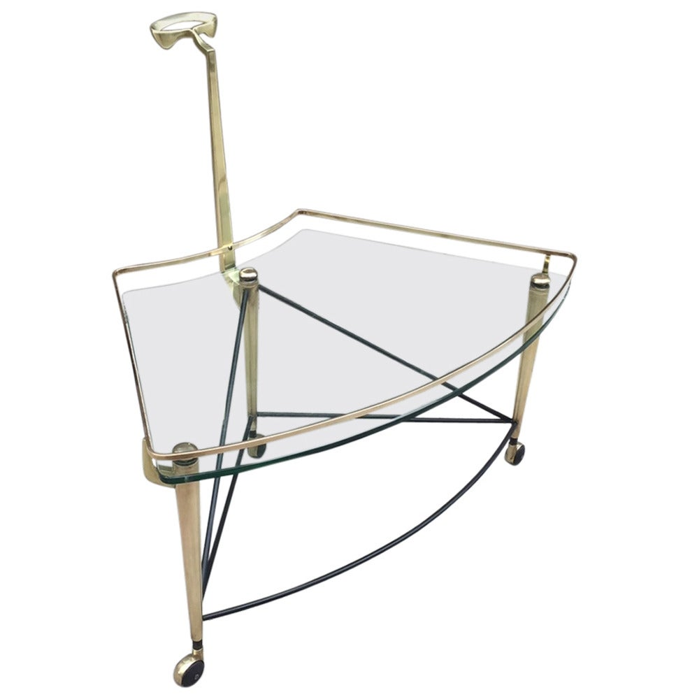 Italian Bronze Bar Cart For Sale At 1stdibs