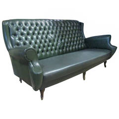 Italian Tufted Back Sofa