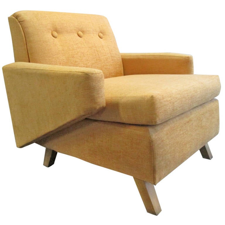Unique Lounge Chair Manner Of Jens Risom For Sale At 1stdibs