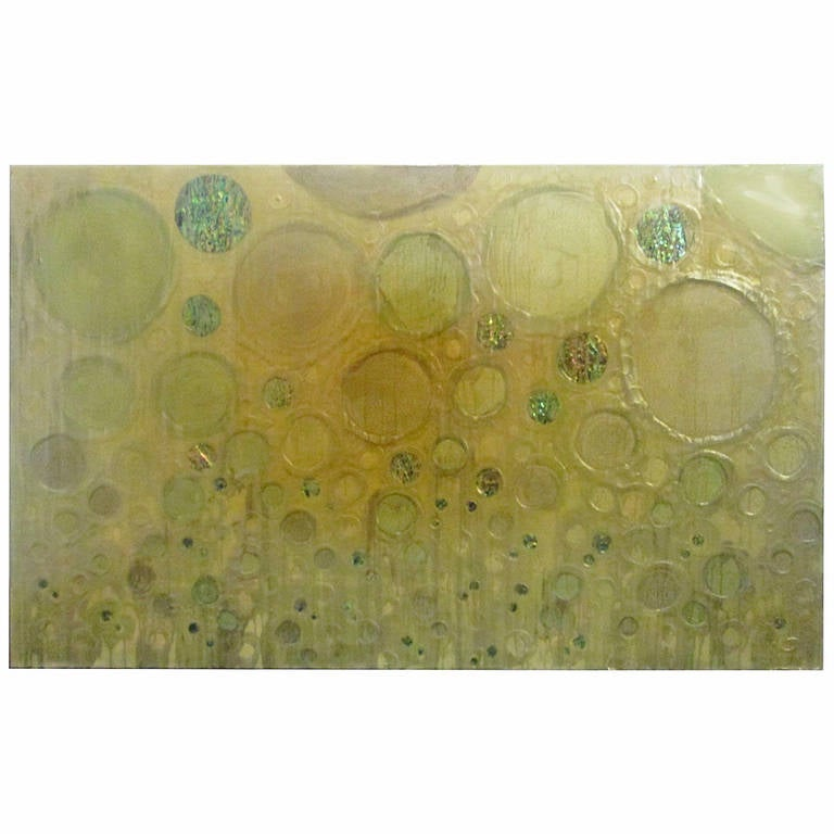 Early Work of Sylvia Hommert LA, Untitled Painting