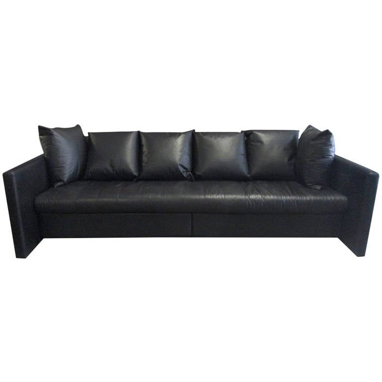 Leather Sofa by Joe D'urso for Knoll