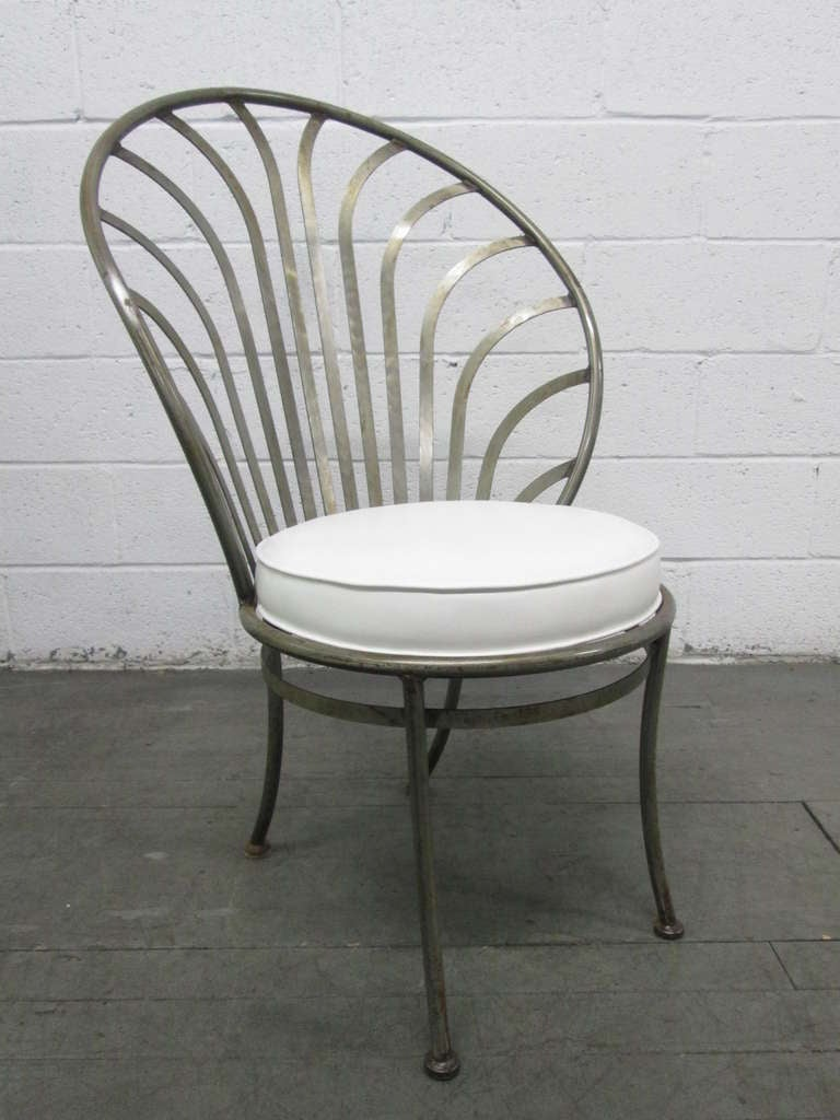 Four Arthur Umanoff Steel Chairs For Shaver Howard At 1stdibs