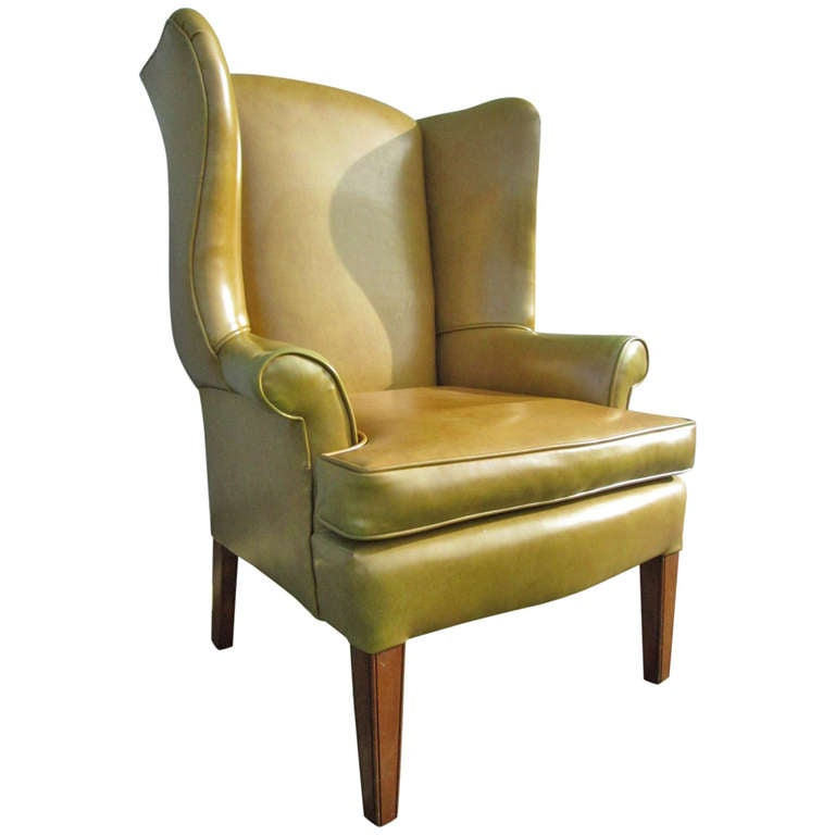 Georgian Style Wingback Chair 1