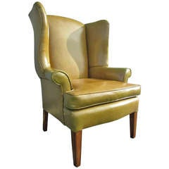 Georgian Style Wingback Chair