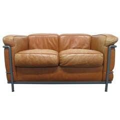 LC2 Le Corbusier Sofa for Cassina