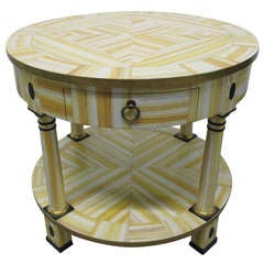 Hand Lacquered Table by Alessandro for Baker