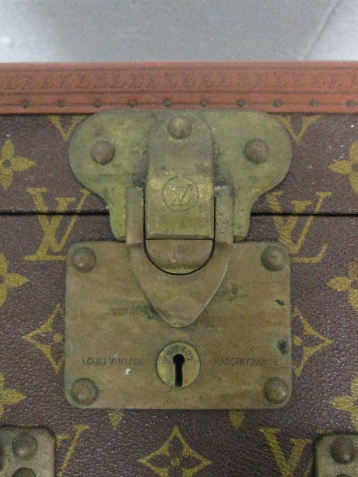 Vintage Louis Vuitton Hutschachtel 9