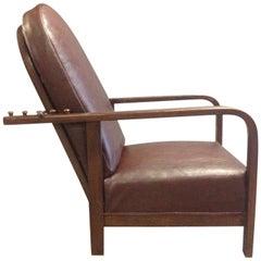 Reclining Chair by Josef Hoffmann