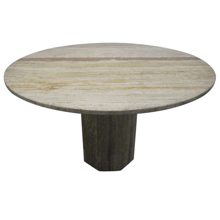 28+ [ Travertine Dining Room Table ] | Striking Color Blocked ...