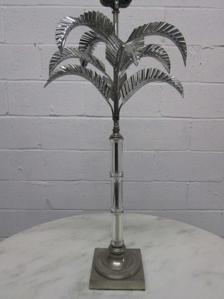 Stylish Palm Tree Table Lamp For Sale At 1stdibs