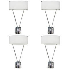 Four Italian Sconces by Leucos