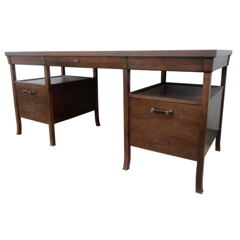 Bill Sofield For Baker Bridger Library Desk At 1stdibs