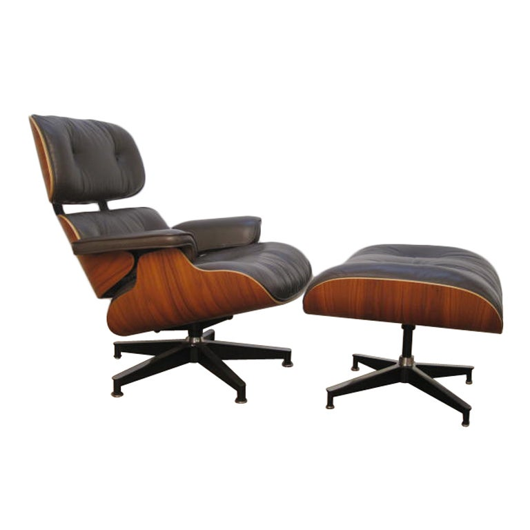 charles and ray eames herman miller lounge chair 670 and 671 at